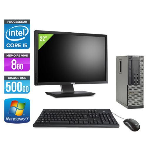 DESCRIPTIF GÉNÉRAL DU PRODUIT Modèle : DELL Optiplex 7010 Format : SFF Processeur : Intel Core i5-3470 3.20 GHz - 4 coeurs - Turbo : 3,60 Ghz - DMI : 5 GT/s - Cache : 6 Mo - Socket FCLGA1155 Chipset : Intel Q77 Express Mémoire Vive : 8 Go - DDR3 Disque du