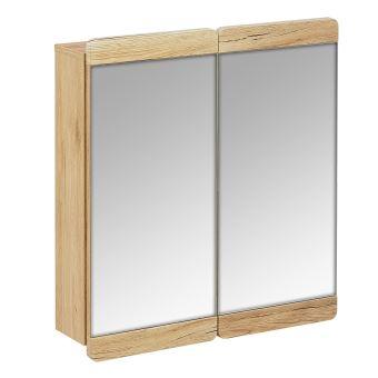 armoire murale et miroir meuble salle de bain couleur bois achat prix fnac. Black Bedroom Furniture Sets. Home Design Ideas