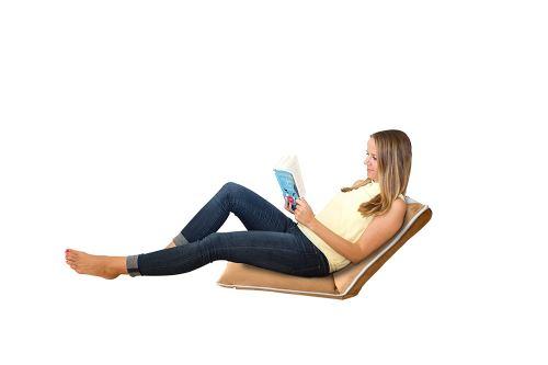 Chaise De Meditation Sol Rembourree Avec Dossier Reglable