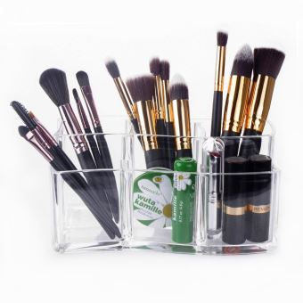 Rangement maquillage pinceaux