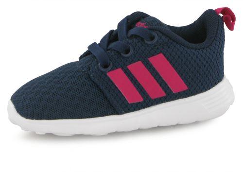 best loved b99a4 37e19 Chaussures Bb Neo Adidas Mode Baskets Bleu Swifty Et Enfant