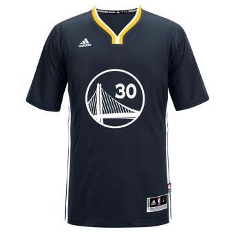 Adidas NBA Golden State Warriors #30 Stephen Curry Noir L