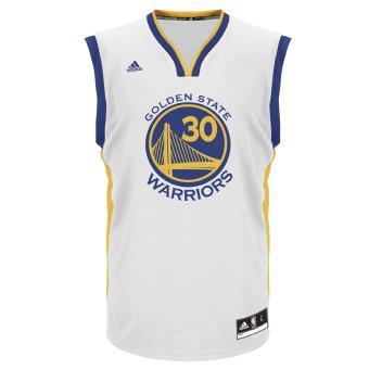 Adidas NBA Golden State Warriors Blanc M Maillot réplica