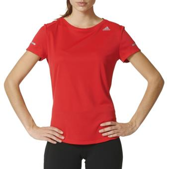 Adidas Sequencials Climalite Run Rouge S T Shirt Manches Courtes