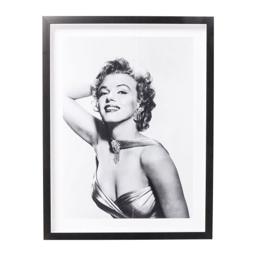 Tableau Frame Marilyn Diva 65x85cm Kare Design