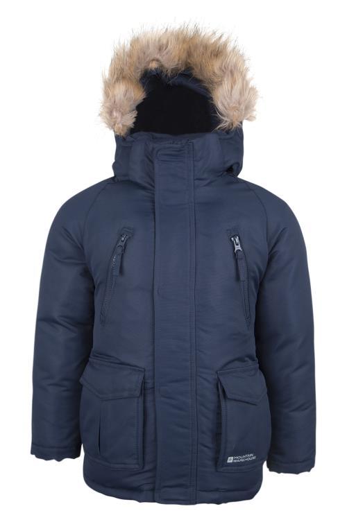 Nouveaux produits 50ee3 d4e6f Mountain Warehouse Doudoune veste Enfant Garçon Fille Hiver ...