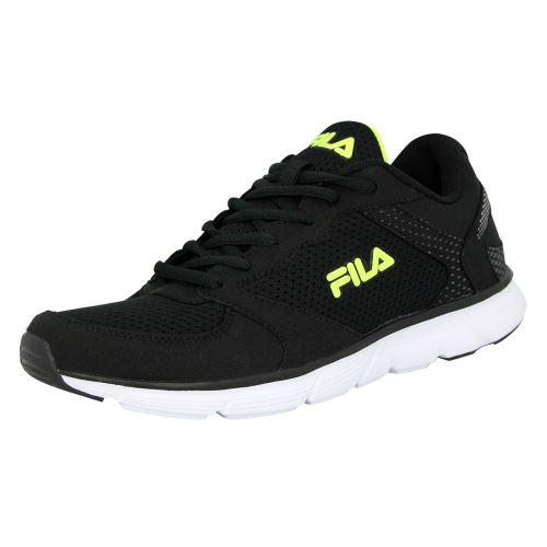 Fila object run low <strong>chaussures</strong> de course running homme noir