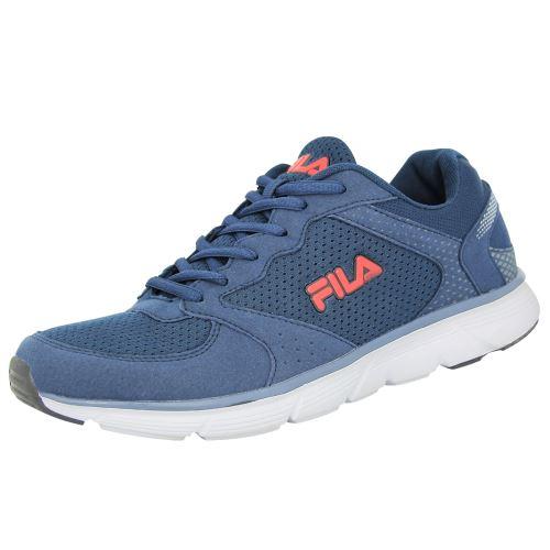 Fila object run low <strong>chaussures</strong> de course running homme bleu