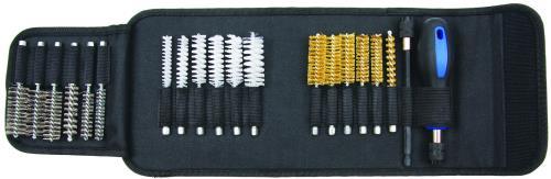Kit brosses de nettoyage injecteurs - bougies 20 pièces
