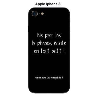 coque iphone 8 texte