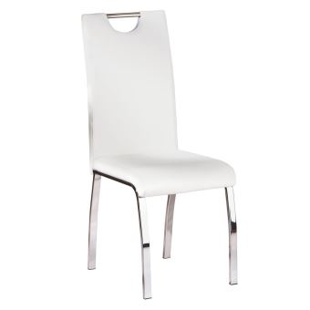 Cooper Lot 6 Chaises Blanches
