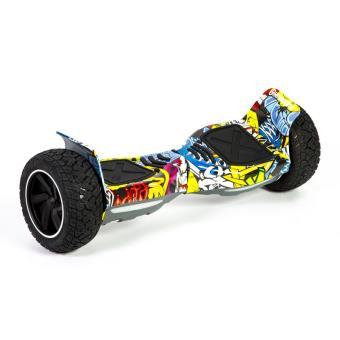hoverboard hummer graffity 1 tout terrain avec bluetooth achat prix fnac. Black Bedroom Furniture Sets. Home Design Ideas