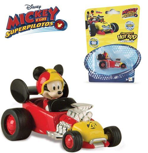 Mickey mini Voiture de courses 7 cm
