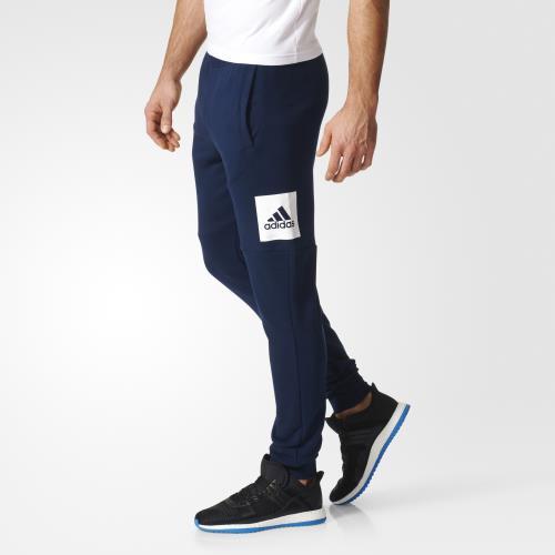 Adidas Pantalon adidas Essentials Box Logo S bleu marineblanc