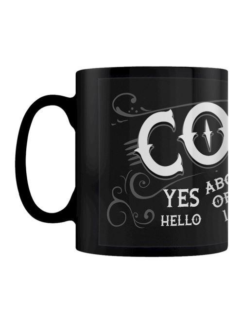 Tasse Ouija Coffee noir