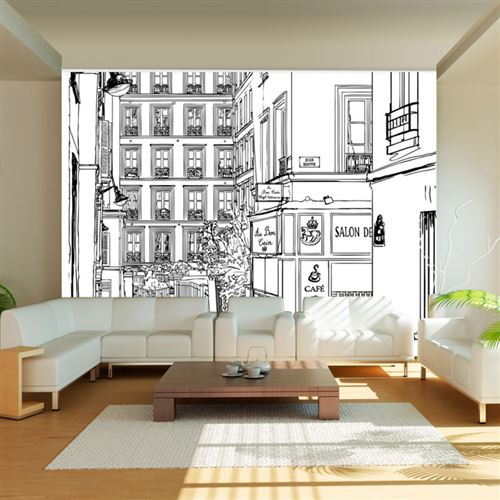 Papier peint - A walk through Parisian streets - Artgeist - 400x309