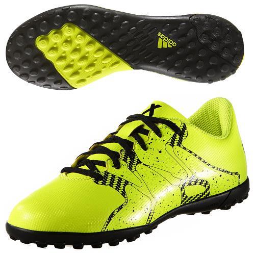 <strong>Chaussures</strong> football x 15.4 tf jr jaune b32950