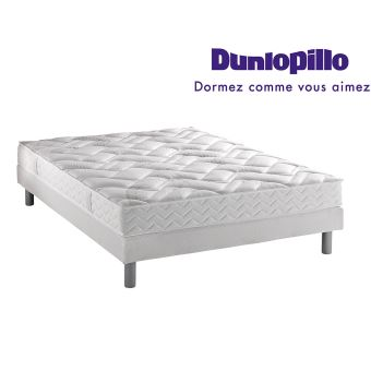 872 sur ensemble dunlopillo matelas 100 latex classic 180x200 2 sommiers 90x200 pieds. Black Bedroom Furniture Sets. Home Design Ideas
