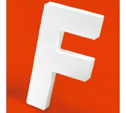 Lettre en carton F