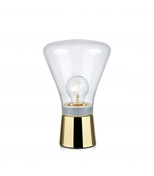 Lampe de table JACK Laiton 1 ampoule