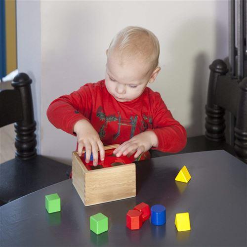 Bo/îte avec Formes /à Encastrer 10560 En Bois New Classic Toys