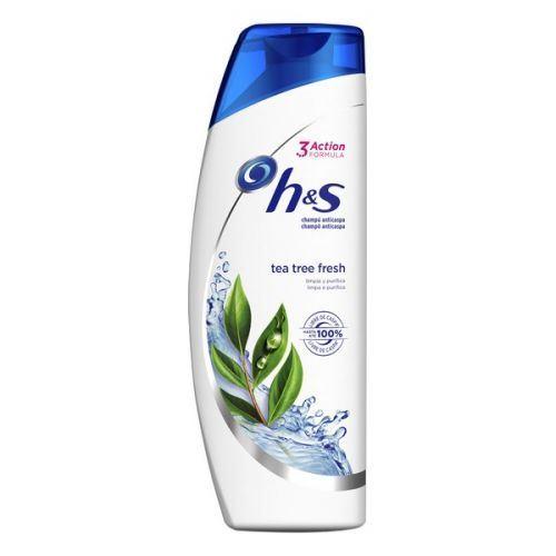 Shampoing Purifiant H&s Tea Tree Fresh Head & Shoulders (360 ml)
