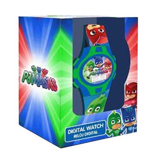 Disney - Pj Masks Montre Digitale Coffret Cadeau, PJ17026