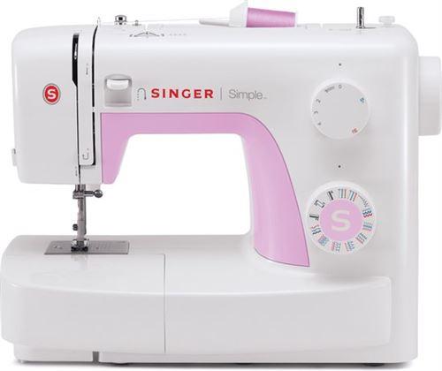 Singer F3223 - Machine à coudre - Blanc/ Rose