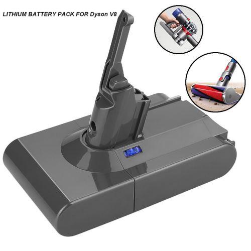 4000mAh 21.6V Batterie pour Dyson V8 Batterie Absolute V8 Aspirateur animaux_onaeatza162