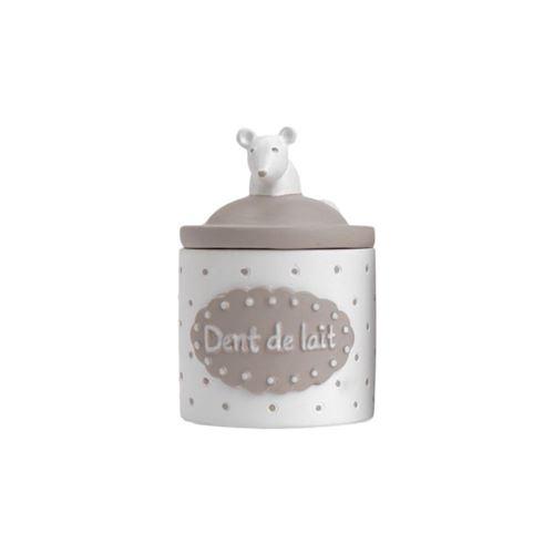 Amadeus Les Petits - Boîte à dents Petite souris Blanc