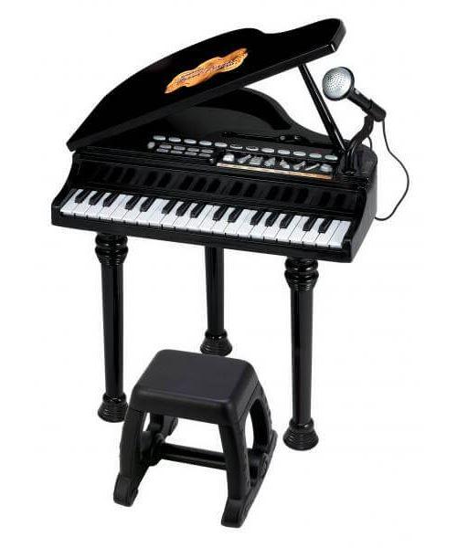 Piano symphonique noir avec siège