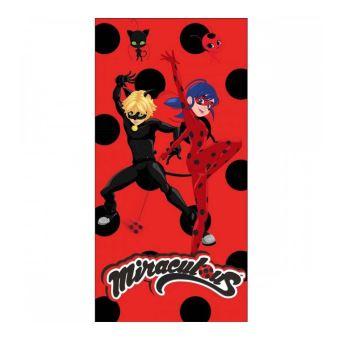 Serviette de Plage Ladybug Miraculous