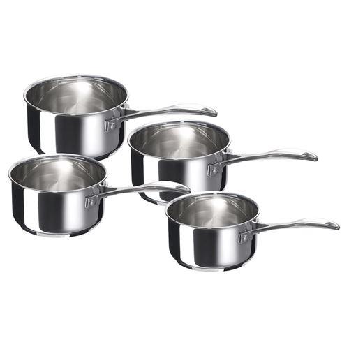 Série de 4 casseroles Beka Chef