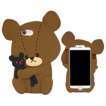 coque iphone 7 nounours