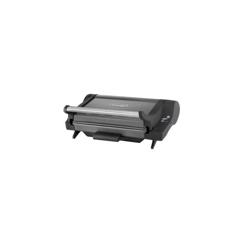 Delonghi Cg4001.bk Grille-viande Electrique Double Contacts - Gris