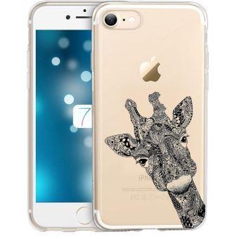 coque iphone 7 plus girafe