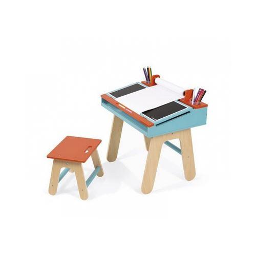 Janod bureau et chaise en bois bureaux enfant et accessoires