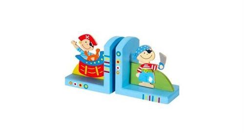 Serre livre Pirate en bois Simply for Kids 21040P