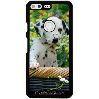 Coque Pour Google Pixel Chiot Dalmatien Un Chien Mignon