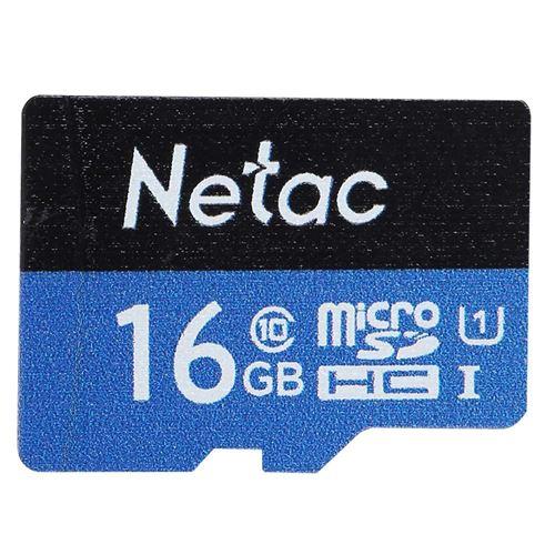 Carte mémoire Netac Class10 UHS-I TF / Carte mémoire pour conduite enregistreur / moniteur caméra 16
