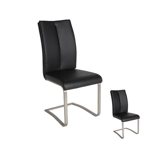 Duo de chaises Noires - JULY