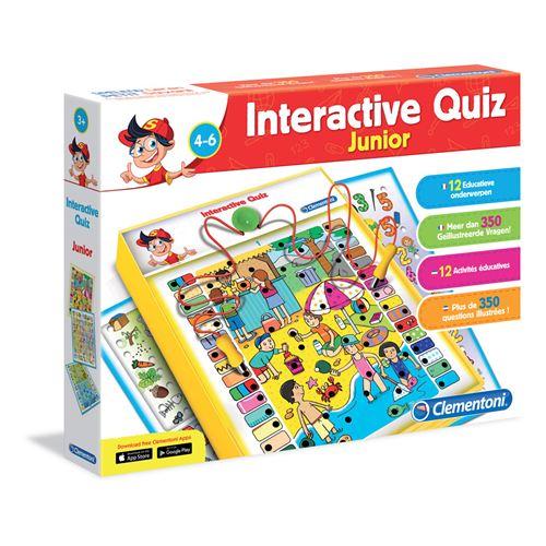 Clementoni Quiz Interactif Junior 4-6 ans