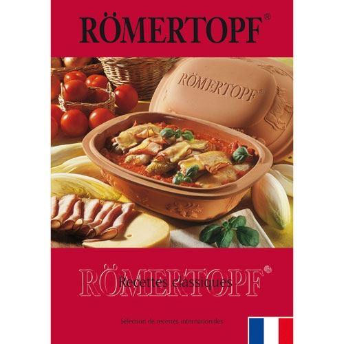 Livre de cuisine recettes classiques romertopf 308 52
