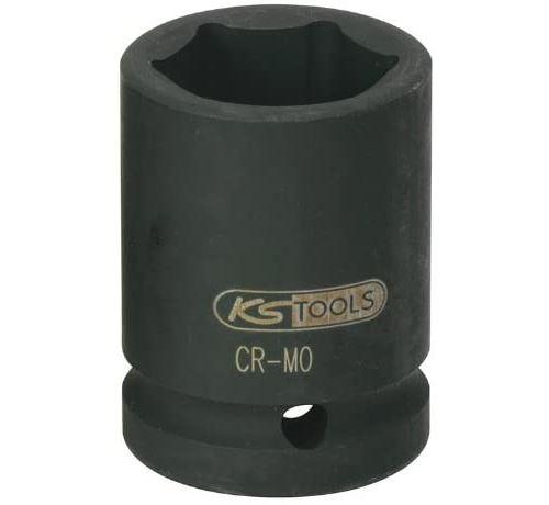 KS Tools 515.1341 - Douille à chocs 6 pans 3/4'', 41 mm - Uniquement pour utilisation à chocs - En Chrome-Molybdène