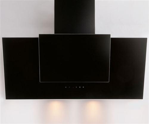 Hotte décorative 621m³/h SILVER 90cm A, H 21090 009