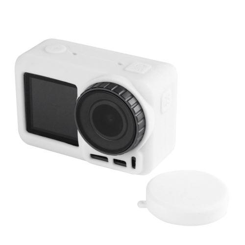 Cadre de protection en silicone Cage Shell Cover Lens Case Pour DJI Osmo action Camera1
