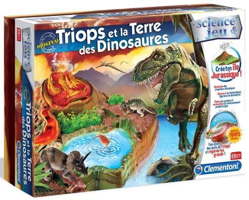 Triops et la terre des dinosaures - clementoni - dès 8 ans