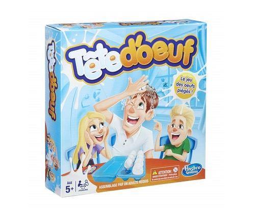 Tete d'oeuf, le jeu des oeufs pieges - jeu d'action drole - enfant 5 ans et plus - pour 2 a 4 joueurs