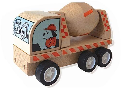 Manhattan Toy jouets d'activité Bétonnière Bois de varoom 10 cm