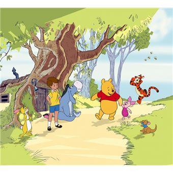 Amis Winnie L Ourson winnie l'ourson rideau - amis, christopher robin, porcinet tigrou et
